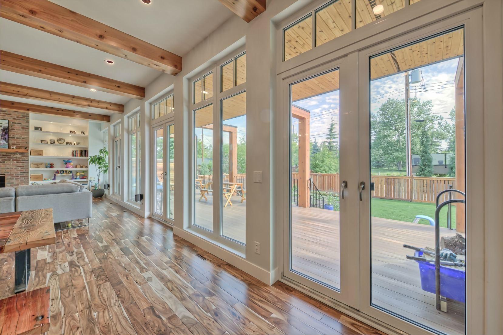 terrace swing doors patio doors