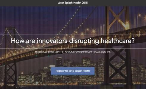Vator Health 2015 Banner