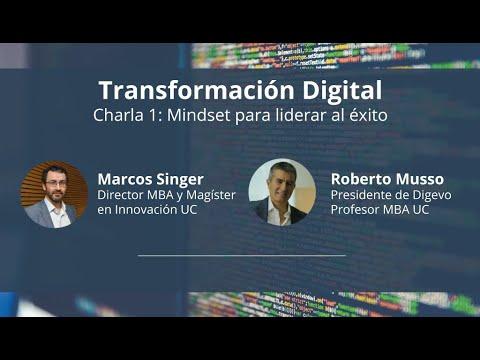 Charla 1 de Transformación Digital con Roberto Musso