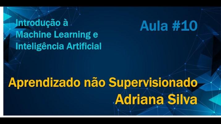 Minicurso de Introdução à Machine Learning e Inteligência Artificial -Aprendizado não supervisionado