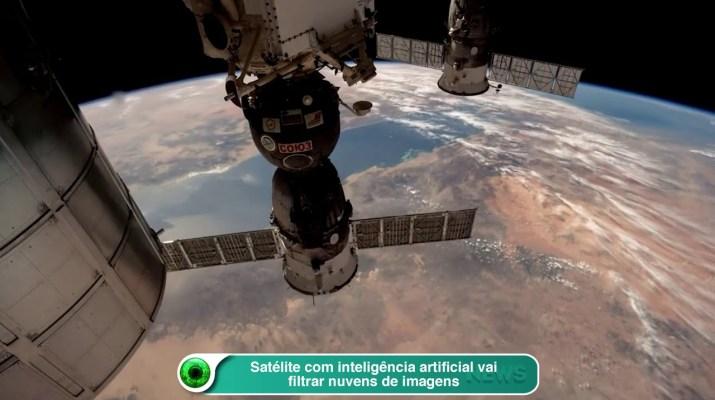 Satélite com inteligência artificial vai filtrar nuvens de imagens