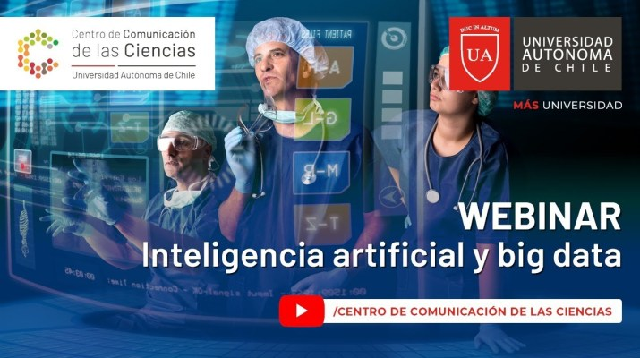Webinar. Inteligencia artificial y big data en salud