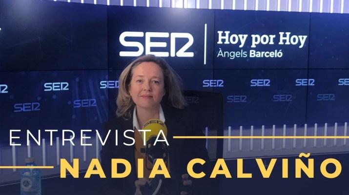 Entrevista a Nadia Calviño en Hoy por Hoy (11/01/2020)