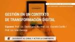 Gestión en un contexto de transformación digital