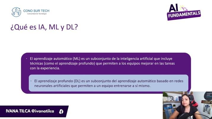 #AIFundamentals | ¿Qué es la Inteligencia Artificial? #AI, #ML & #DL