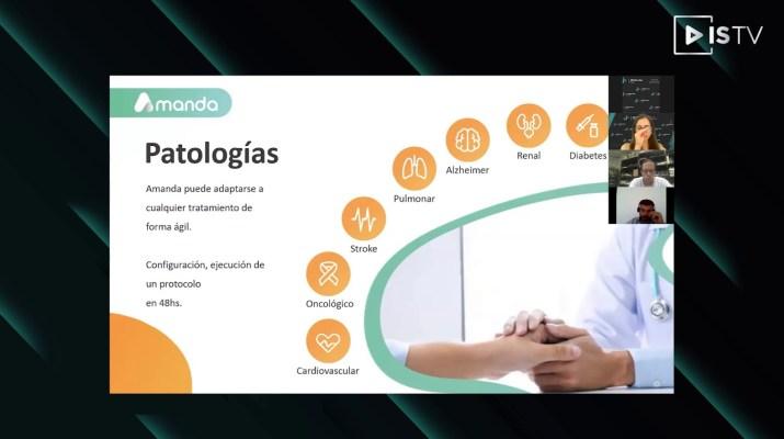 Amanda Care - Inteligencia Artificial en Medicina Asistencial. Primeros 15.000 pacientes COVID-19