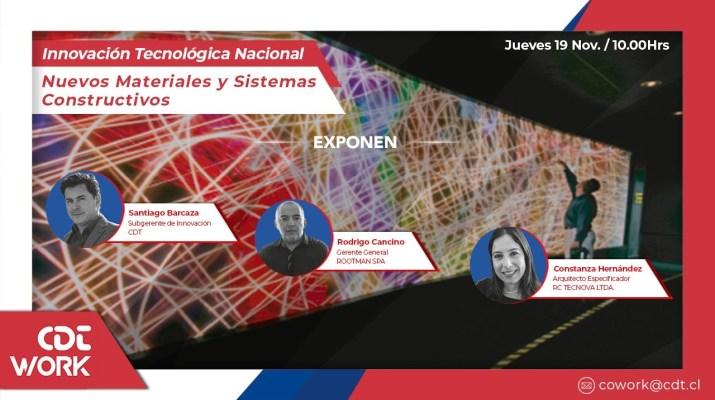 Innovacion Tecnológica Nacional: Nuevos Materiales y Sistemas Constructivos