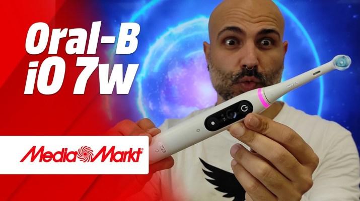 Oral-B iO 7w ¡Un cepillo eléctrico con inteligencia artificial! 😱