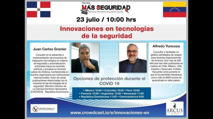 Webinar | Innovaciones tecnológicas en seguridad