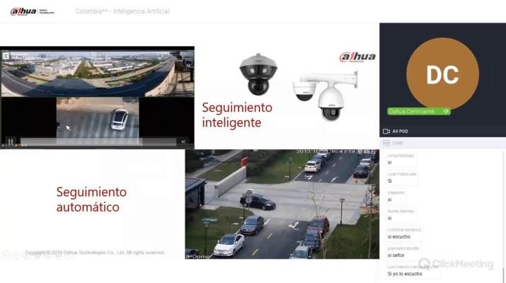 Webinar Soluciones  IA (Inteligencia artificial) DAHUA