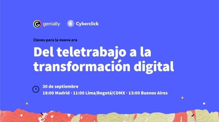 Del teletrabajo a la transformación digital: claves para la nueva era.