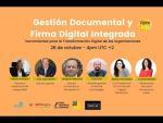 Gestión Documental y Firma Digital Integrada. Herramientas para la transformación digital
