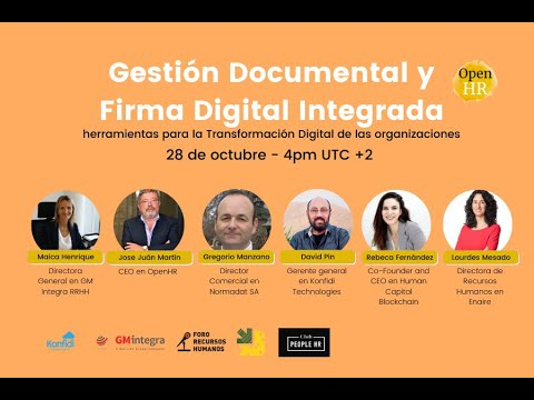 Gestión Documental y Firma Digital Integrada. Herramientas para la transformación digital