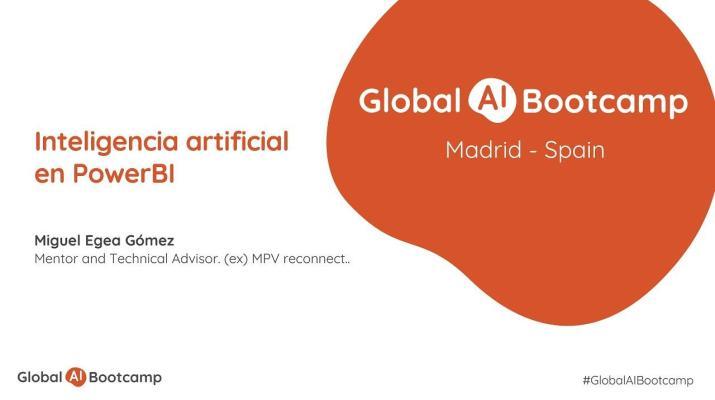 GAIB2020 Sesión 12 - Inteligencia artificial en PowerBI
