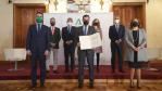 Juanma Moreno asiste a la firma del acuerdo para el Polo de Innovación Tecnológica en Almería