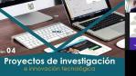 Sesión 04 Proyectos de investigación e innovación tecnológica 21 10 2020