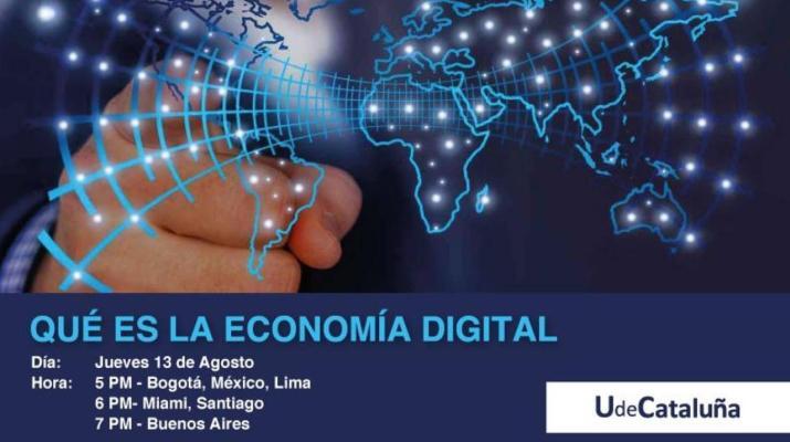 Webinar - Qué es la Economía Digital - UdeCataluña