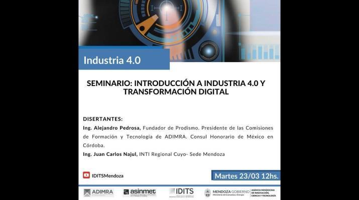 Seminario: Introducción a Industria 4.0 y Transformación Digital
