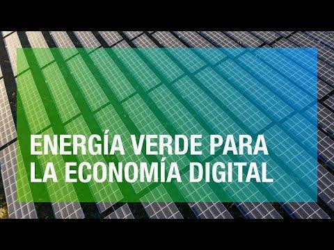 Energia verde para alimentar la economía digital