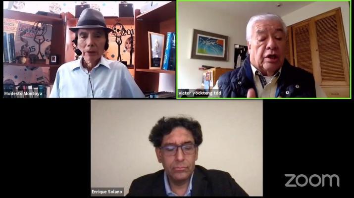 Transformación digital en el Mundo y en el Perú. Enrique Solano (IQM), Víctor Yockteng (TDD Perú)