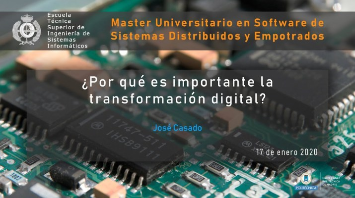 ¿Por qué es importante la transformación digital?