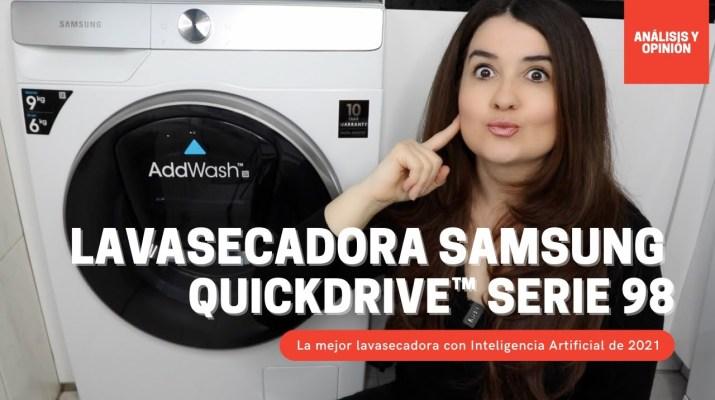 Lavadora Secadora Samsung QuickDrive con Inteligencia Artificial: ¿Merece la pena? Opiniones