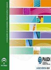 Avance Memoria del Plan Andaluz de Investigación, Desarrollo e Innovación 2010