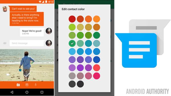 Google-Messenger-uygulaması