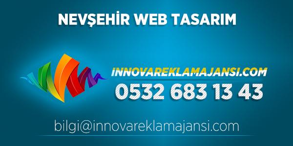 Nevşehir Merkez Web Tasarım