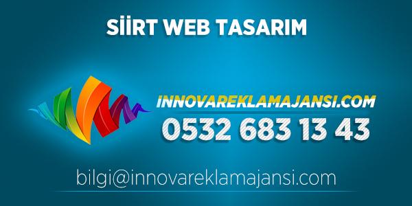 Siirt Merkez Web Tasarım