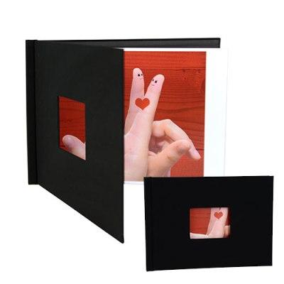 Pinchbooks with window