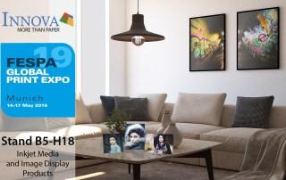 Innova Art at FESPA 2019 | Inkjet Media and Display Products