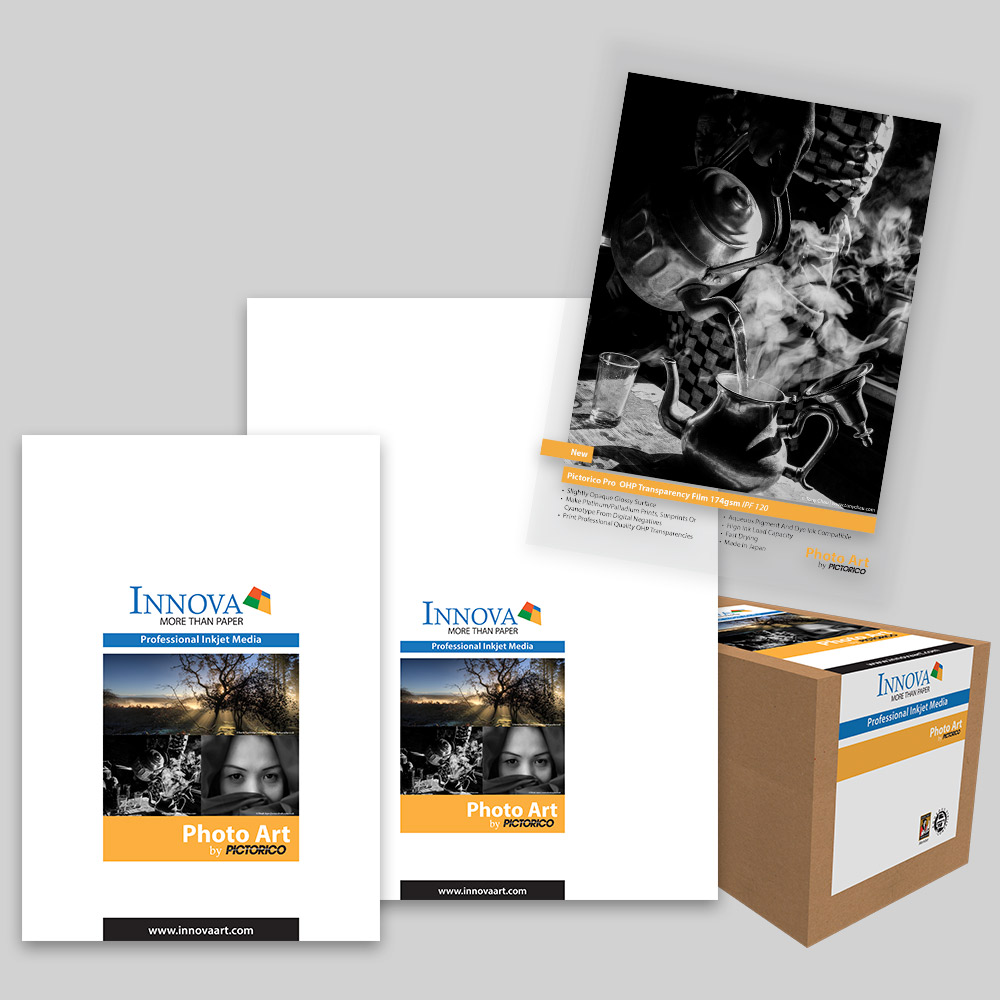 Pictorico Pro OHP Transparency Film 174gsm (IPF-120)   Innova Photo Art by Pictorico