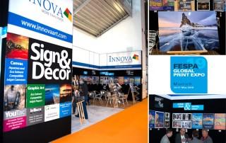 Innova Art Stand at FESPA 2019