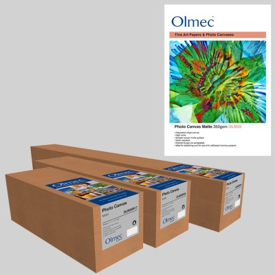 Olmec Photo Canvas Matte 350gsm (OLM 35) Inkjet Canvas