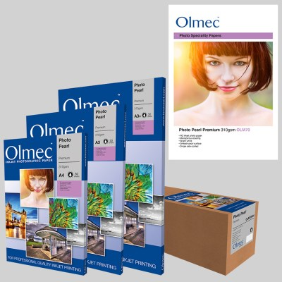 Olmec Photo Pearl Premium 310gsm (OLM 70) Inkjet Photo Paper