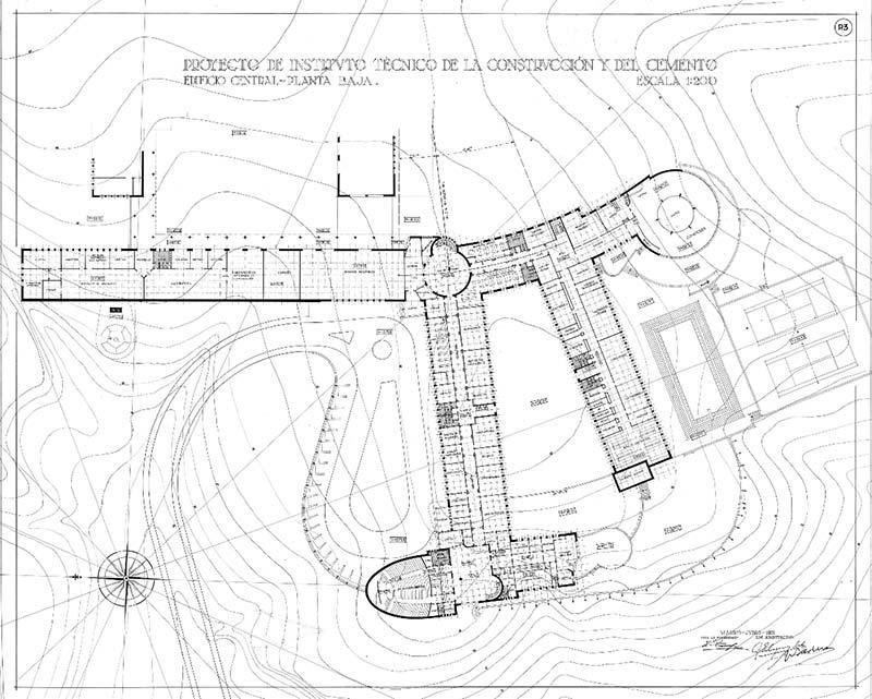 Ground-floor-Torroja-Building-InnovaConcrete-case-study