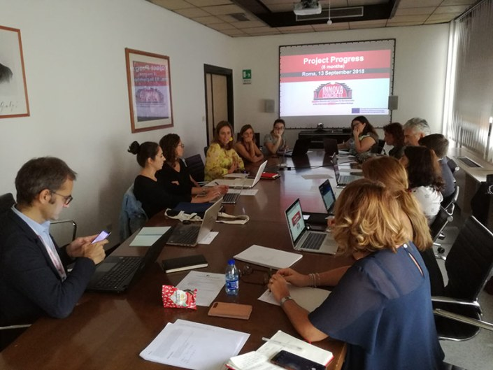 Maria-Mosquera-opens-the-InnovaConcrete-Rome-Meeting