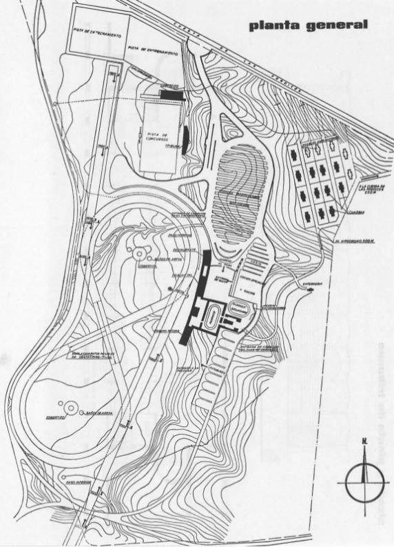 Zarzuela-racehorse-general-plan