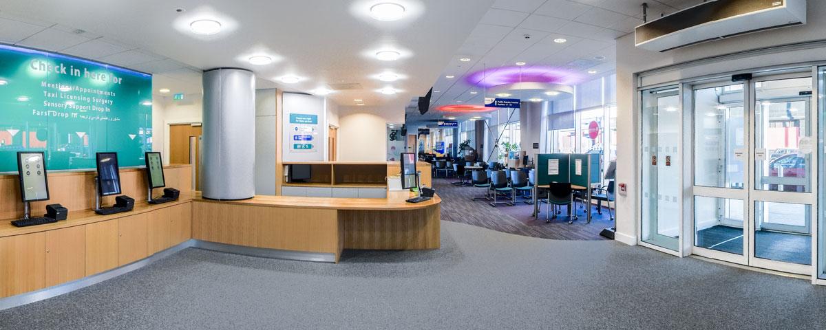 Reception Area Design Manufacture Amp Installation Innova
