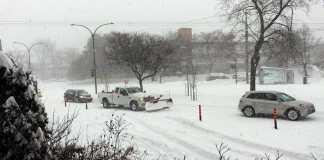 tempestad invernal