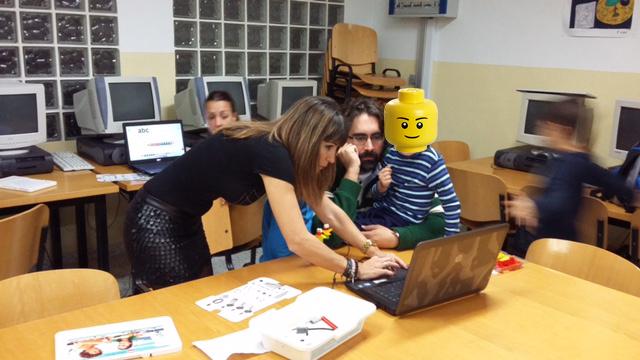 robótica educativa, colegio porto carrero