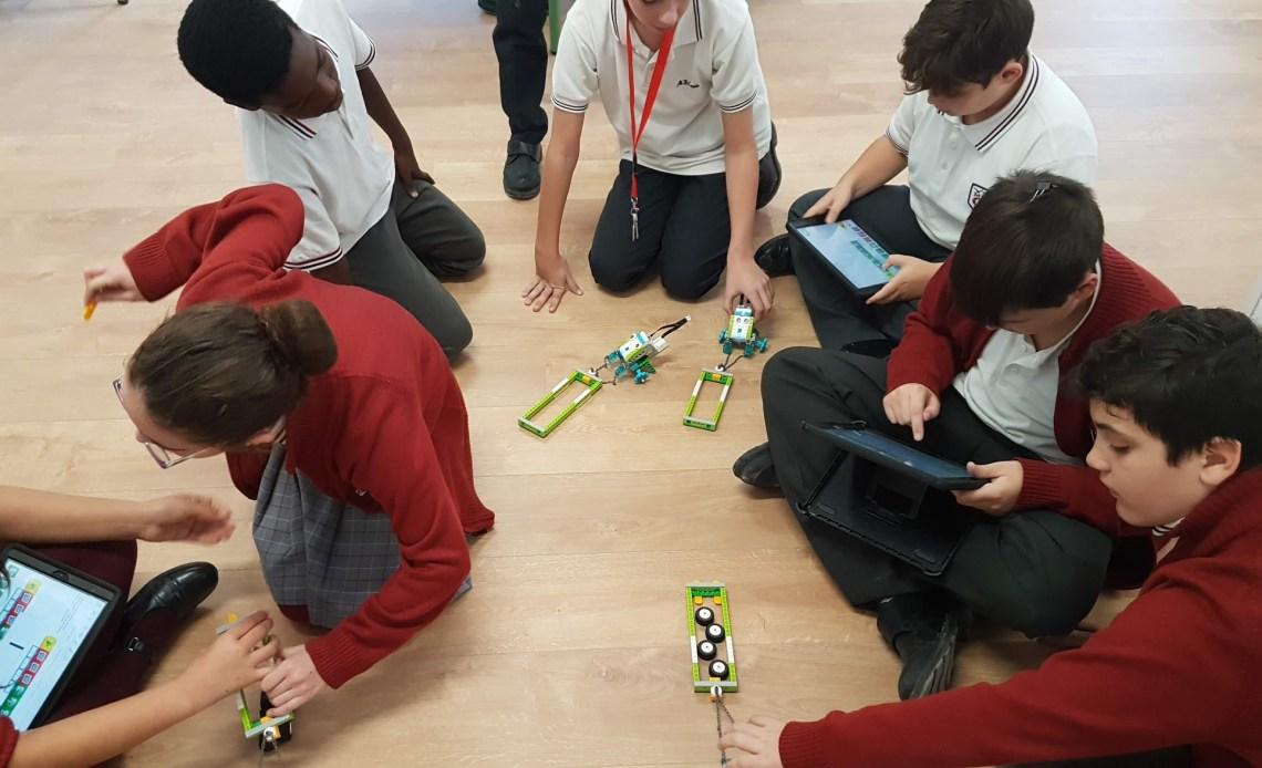 Aprender matemáticas con la robotica