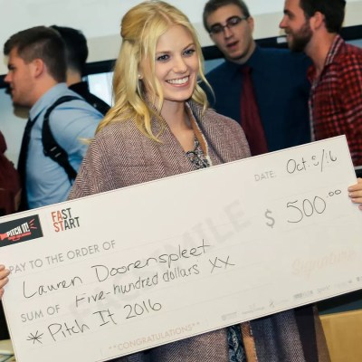lauren doorenspleet faststart pitch winner