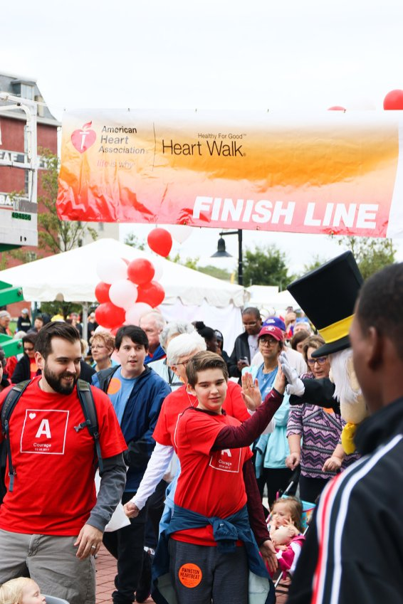 American Association Heart Walk-29