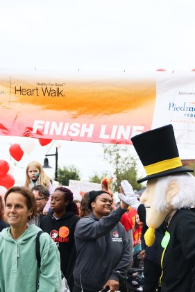 American Association Heart Walk-31