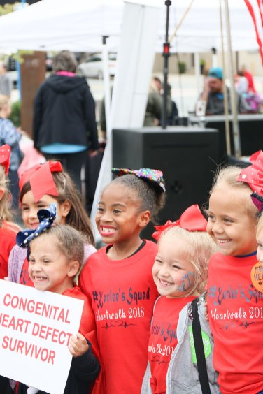American Association Heart Walk-5