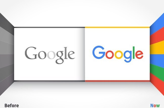 The New Google Logo 1