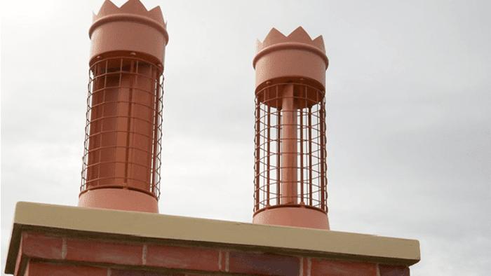 Two Secret Energy Turbine rooftop turbines via Gizmag