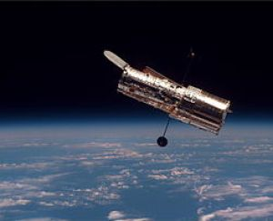 The Hubble Space Telescope (HST) begins its se...